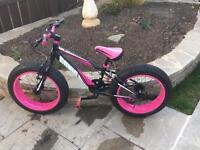 Sonic Bulk kids bike (pink)