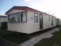 S & N's 8 birth caravan to let in trecco bay porthcawl