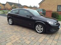 2007(57)VAUXHALL ASTRA 3DOORS 1.6SXI METALLIC BLACK WITH MOT 7MONTHS AND TAX 11 MONTHS