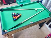 Kids Dunlop Table Football and Pool Table