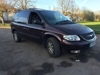 Fully loaded Chrysler Voyager