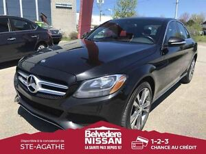 2015 Mercedes-Benz C-Class 300 4MATIC BLUETOOTH