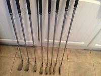 Titleist 716 Ap1 irons mint cond 3-pw upgraded shafts