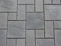 PAVING STONES, RIVEN, YORK STONE EFFECT 3 SIZE PATTERN