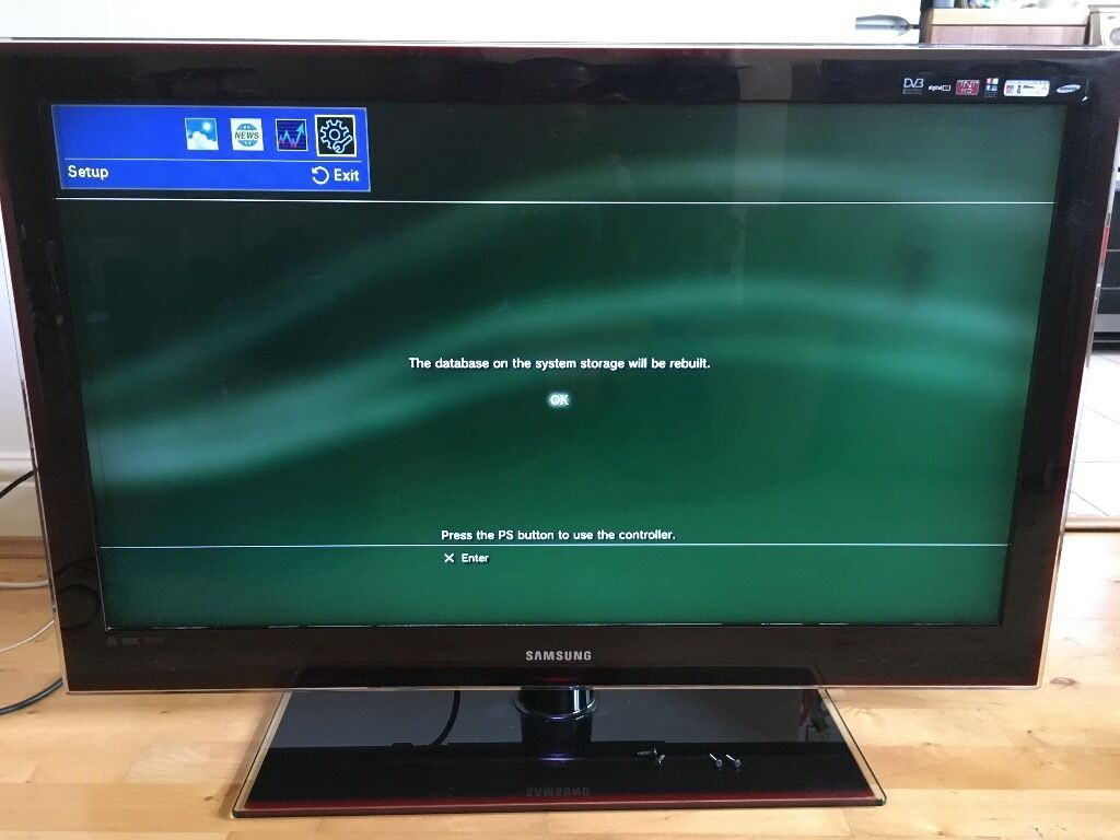 samsung lcd 40 inch tv in twickenham london gumtree. Black Bedroom Furniture Sets. Home Design Ideas