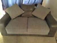 2 big 2 seater sofas