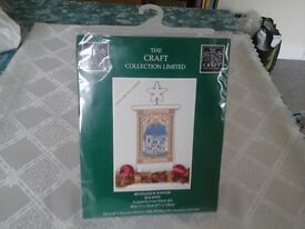 Cross Stitch Kit Christmas Bethlehem Banner