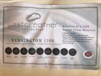 Kensington Whitefeather Collection 1500 Pocket Sprung Divan Bed - Single