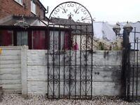 wrought iron gate / garden gate / metal gate / steel gate / driveway / side gate / tall gate / entry