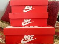 Genuine Empty Shoe Boxes (Nike, Adidas, Vans)