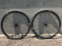 Mavic cosmic c40 carbon wheels