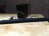 LG SH2 Soundbar and Subwoofer
