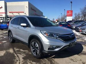 2015 Honda CR-V TOURING | NAV | LEATHER | CLEAN CARPROOF | SUNRO
