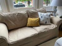 2 Seater Sofa IKEA Ektorp BEIGE