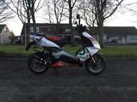 Aprillia sr 50cc moped