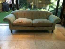 Elegant three seater sofa