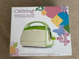 Cuttlebug Embossing and die cutting machine