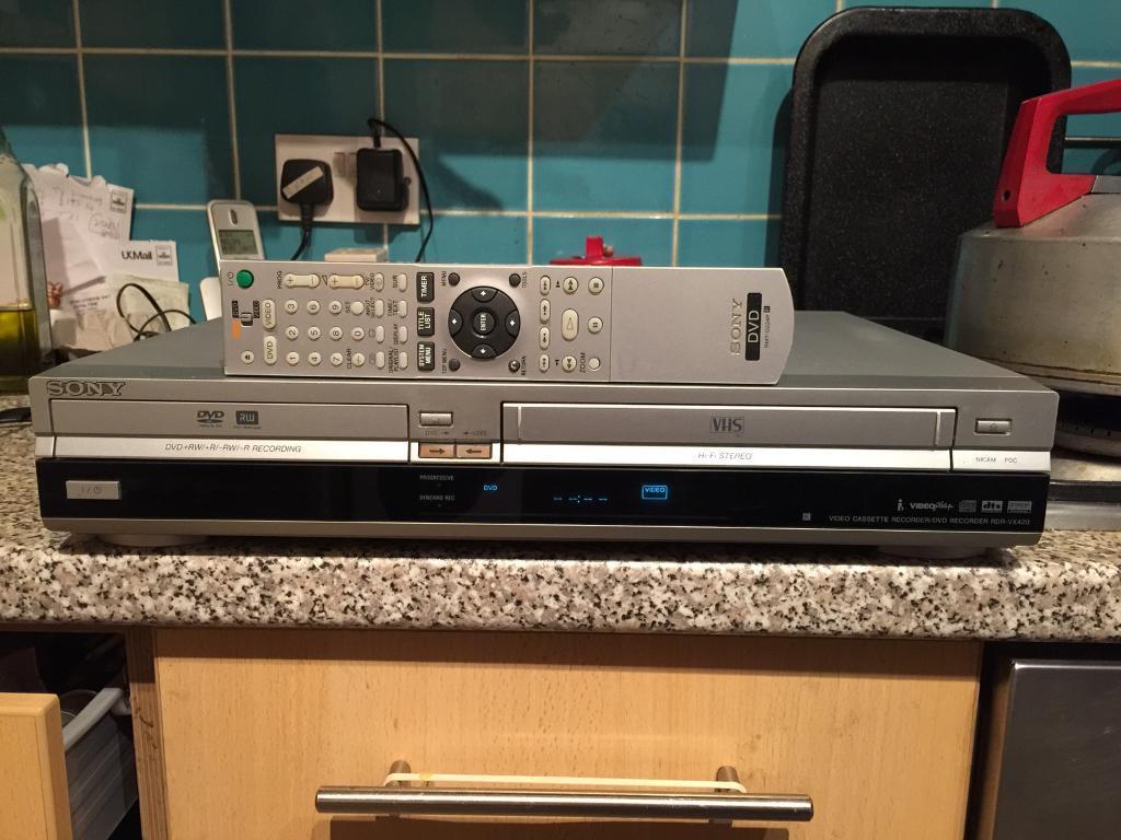 Sony Dvd Video Recorder Combo Rdr Vx420 In Aldgate London Gumtree Room
