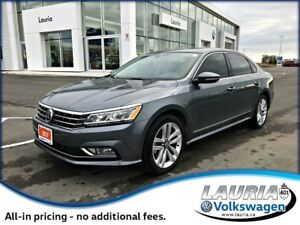 2017 Volkswagen Passat 3.6L VR6 Highline - Loaded!!