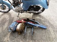 HONDA C90 spares ENGINE WHEELS
