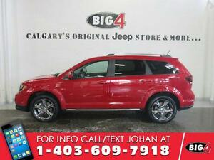 2016 Dodge Journey Crossroad, 7 seats, rear DVD