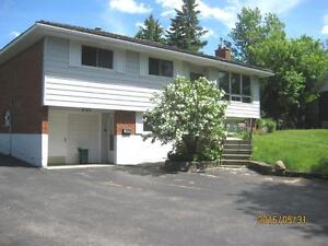 Beautiful 3 BDRMS home on main level of duplex in Waterloo West