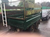 9x6 tipper manual, huge capacity, 2.6 tonne payload
