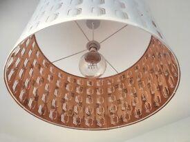 Retro style shade and bulb