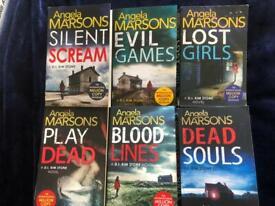 Angela Marsons crime thriller books