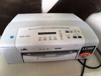 Brother inkjet printer, copier and scanner with direct printing from camera or USB