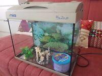 Used fish tank.