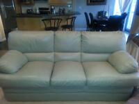 Leather sofa 299