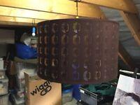 Ikea Large circular lamp shade new