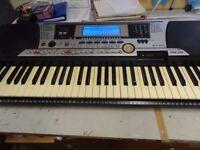 Yamaha PSR550 Electronic Keyboard