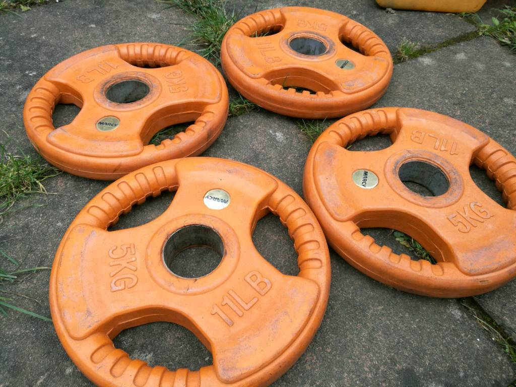 20 kg rubber Olympic weights Marcy