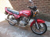 Sanya 125cc motorbike