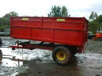 Marshall farm tipping trailer 12x7 no vat