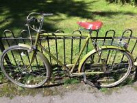 Old school men's bicycle