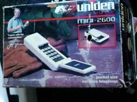 Retro uniden cordless phone