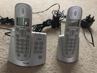 Phillips dual answer machine handsets