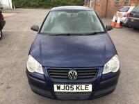 Volkswagen Polo 1.2 E 3dr 2005 (05 reg), Hatchback(30 days warranty)£1399 Bridgwater, Somerset