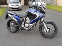 Honda Transalp XL700. 58 Reg. Lady owner. Excellent condition. Full luggage and extras