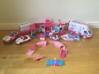 Large Animal Rescue set and figures