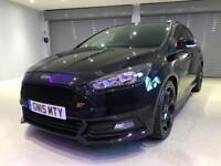 FORD FOCUS 2.0 TDCi 185 ST-2 5dr FREE DELIVERY TO YOUR DOOR (black) 2015
