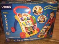 V tech first steps baby walker