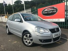 2009 (09 reg) Volkswagen Polo 1.2 Match Hatchback 3dr 5 Speed Manual Petrol