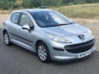Peugeot 207 1.4 16v, 5dr Long MOT, 2 Keys, Recently Serviced