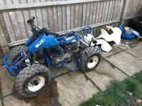 Suzuki quad bike needs tlc