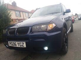 BMW X3 M SPORT 6 SPEED 2.0 DIESEL