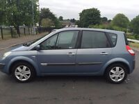 55 Blue Megane Scenic 5dr hatchback **New MOT**
